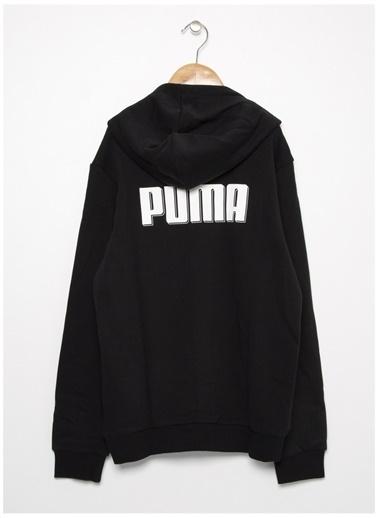 Puma Puma 58153201 Rebel Hooded Jacket SiyahErkek Çocuk Ceket Siyah